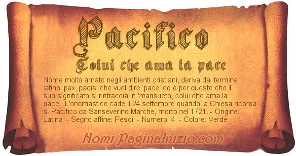 Nome Pacifico