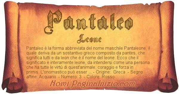 Nome Pantaleo