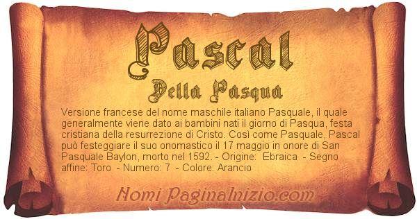 Nome Pascal