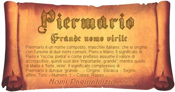 Nome Piermario