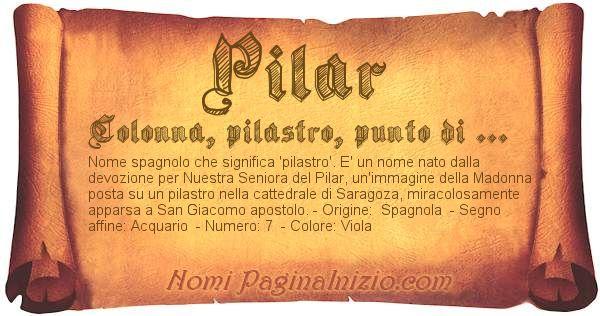Nome Pilar