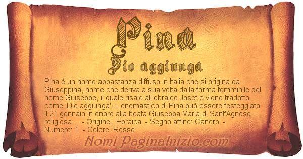 Nome Pina