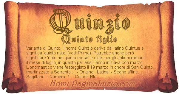 Nome Quinzio