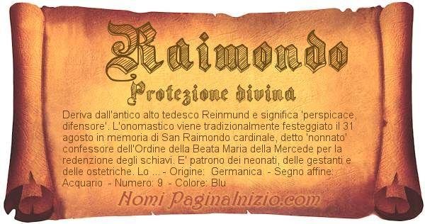 Nome Raimondo