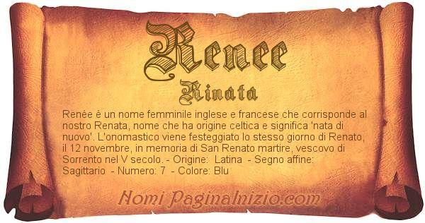 Nome Renee