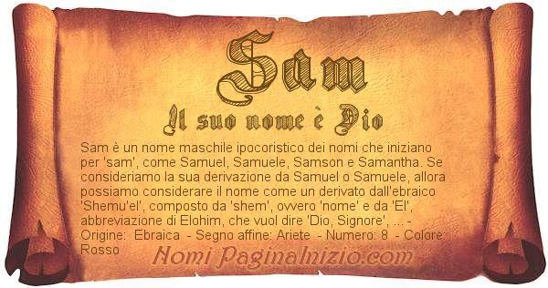 Nome Sam