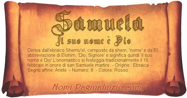 Nome Samuela