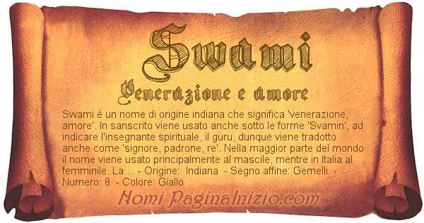 Nome Swami