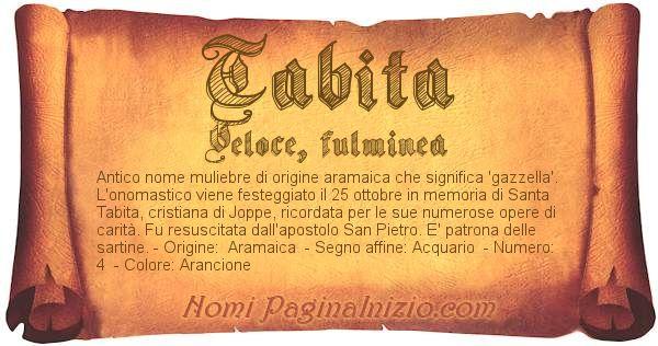 Nome Tabita