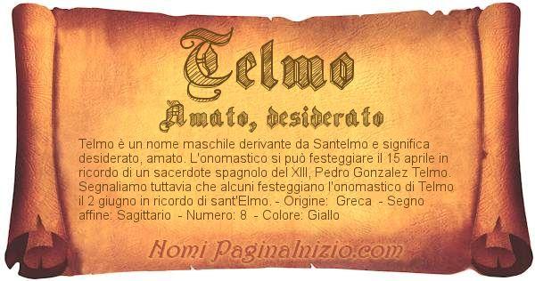 Nome Telmo