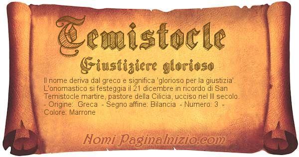 Nome Temistocle