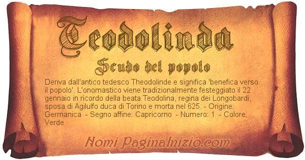 Nome Teodolinda