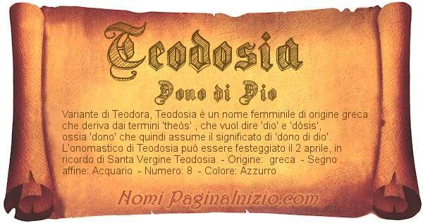 Nome Teodosia