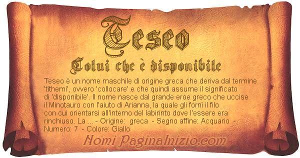 Nome Teseo