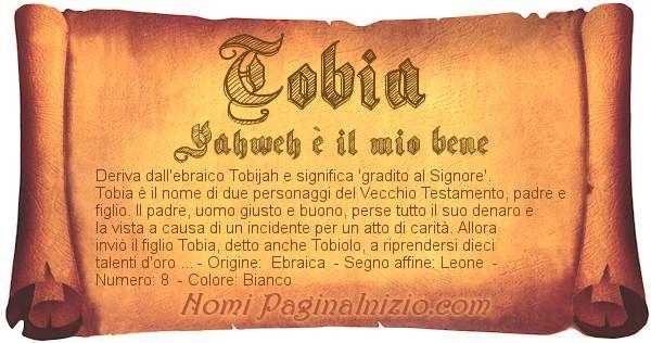 Nome Tobia