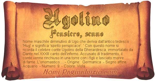 Nome Ugolino