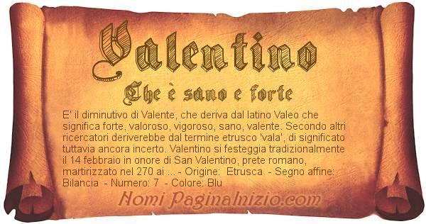 Nome Valentino