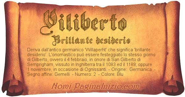 Nome Viliberto