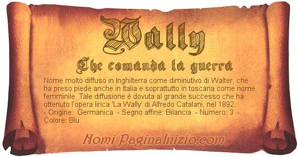 Nome Wally