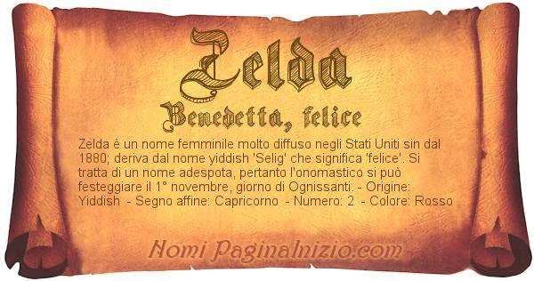 Nome Zelda
