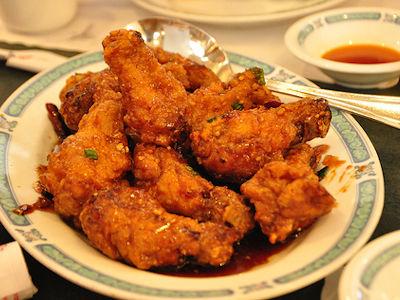 Ali di Pollo alla Cinese