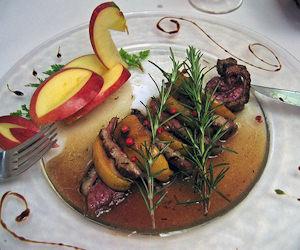 Anatra al Calvados