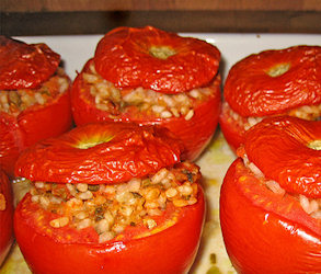 Antipasto di Pomodori alla Valacca