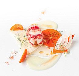 Aragosta all'arancia