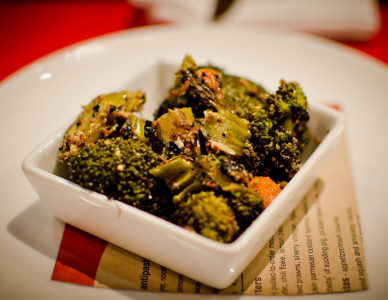 Broccoli Romani all'aglio