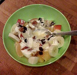 Budino di Frutta