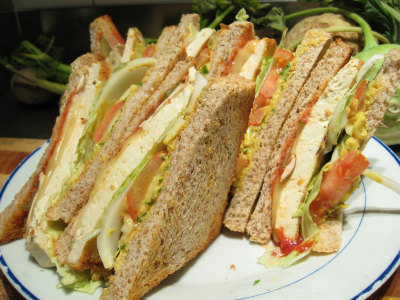 Club Sandwich al Pollo