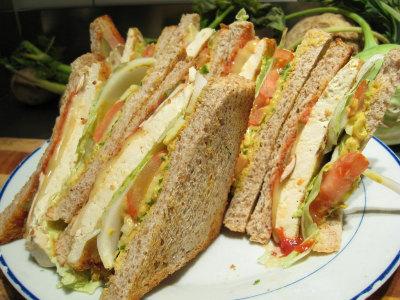 Club Sandwich al Pollo