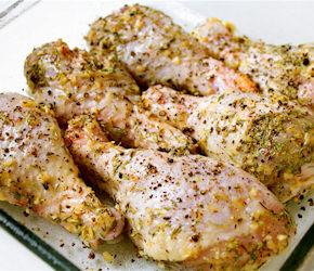 Coscette di Pollo al Limone