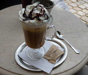 Granita dolce al caffè