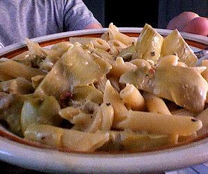 Pasta ai Carciofi (4)