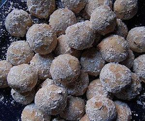 Polpette di castagne zuccherate
