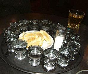 Tequila con Limone e Sale