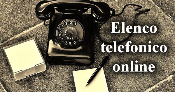 Elenco Telefonico On Line E Ricerca Numeri Di Telefono