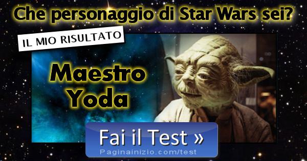 Risultato test che personaggio di star wars sei maestro for Maestro nelle planimetrie principali