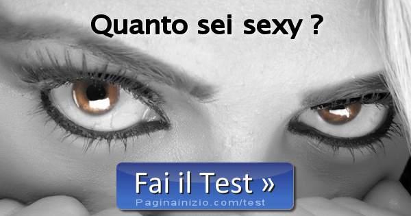 Test Quanto Siete Sexy